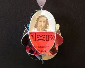 The Doors Band Album Cover Ornament Made Of Record Jackets -  Jim Morrison