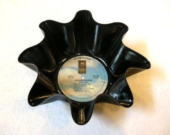 Jackson Browne Record Bowl Made From Repurposed Vinyl Album