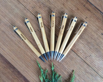 Engraved Pens. Bulk. Christmas Gift. Stocking Stuffer. Workplace Gift