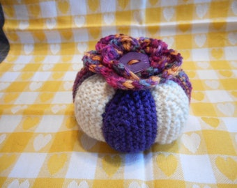 Pin Cushion, Knitted Pin Cushion, Sewing Accessories