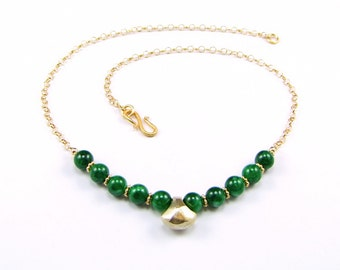 Stunning Burma Maw Sit Sit Necklace - N756B
