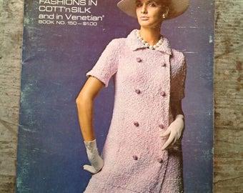 Vintage 1968  Bernat Yarn Knitting Pattern Book 150