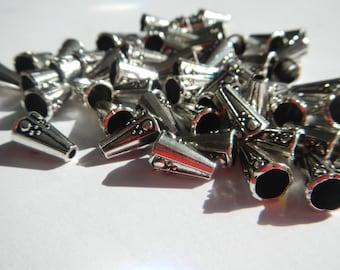 Bead Cones ~ Silver