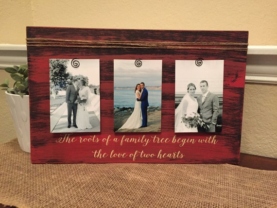Wedding Gift For Your Wife: Wedding Gift Frame Personalized Picture Frame For Husband