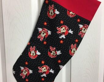 Disney minnie mouse  christmas stocking