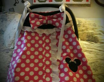 Minnie mouse Baby carseat cover