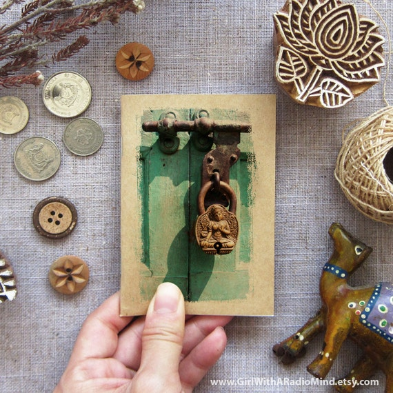 Key Notebook 09. Mini Travel Journal - Key to Nirvana, Nepal - Small Pocket
