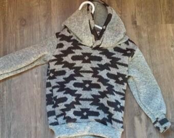 Sweatshirt fleece hoodie astex/grey