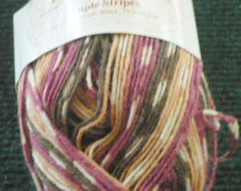 New Listing - Knit Picks - Simple Stripes - 75 Superwash Wool 25 Nylon - 231 Yards - 50 Grams