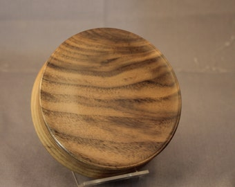 Walnut Magnetic Pincushion or Paperclip Holder