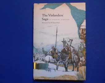 The Vinlanders' Saga, a Vintage Children's Book