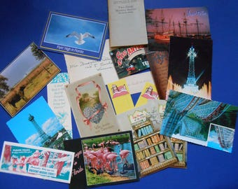 Vintage Paper Ephemera, 19 Pieces