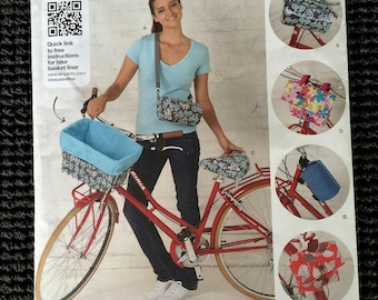 Simplicity 1712 Bicycle Bike Bags Seat Cover Sewing Pattern UNCUT