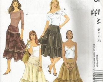 McCall's 5005  Skirt Pattern  SZ 6-12    CLEARANCE ITEM