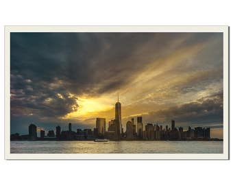 New York Gold - Photographic Print by Doug Armand on Etsy