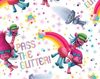Trolls Pass the Glitter Skirt