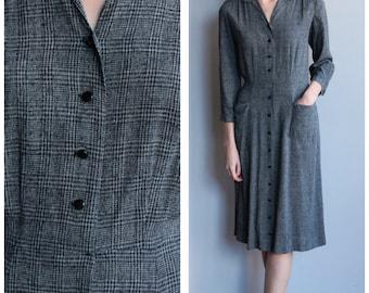 1940s Dress // Kay Dunhill Dress // vintage 40s dress