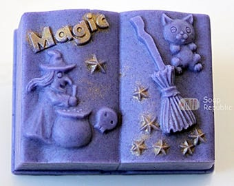 SoapRepublic Magic Book Silicone Soap Mold