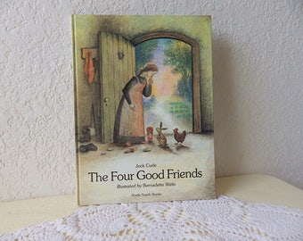 Children's Book: The Four Good Friends by Jock Curle, 1987