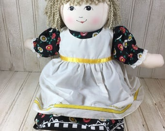 Vintage Mary Engelbreit Cloth Doll