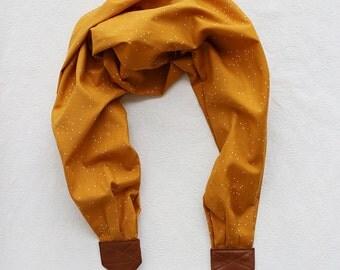 scarf camera strap golden starlight - BCSCS079