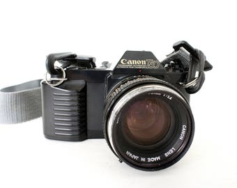 Canon T50 SLR 35mm Film Camera -  Working Film Tested