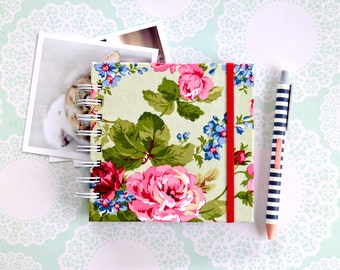 Fabric album, ROSY POSY Instagram album, scrapbooking album, brag book