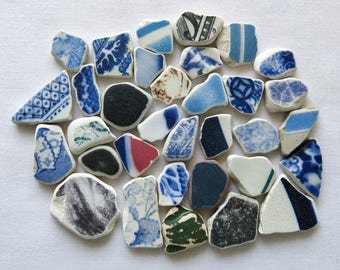 English Beach Finds - Pottery Pieces -Lot DC1012