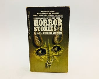 Vintage Book Selections from the Pan Book of Horror Stories #4 1963 Paperback Anthology Series