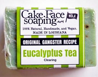 Eucalyptus soap Tea tree soap handcrafted soap gift soap green soap natural vegan soap bar fresh soap natural soap handmade soap for bridal