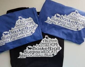 Kentucky words T-shirt