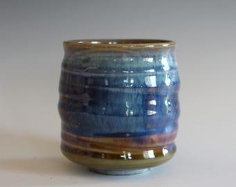 DISCOUNTED Tea Cup, Yunomi, handmade ceramic tea cup, handmade pottery, ceramics and pottery, pottery cup