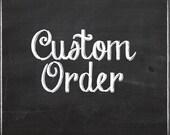 Black Water custom order