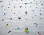 """SOFT and SWEET BABY Fabric Cotton Knit T-shirt Onesie Fabric 3/4 yd x 55"""" wide"""