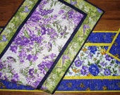 Reserved for Tatiana Floral Table Runners