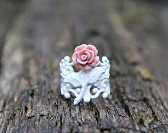 Chico Mauve Rose Ring