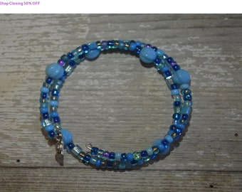 Shop Closing 50% OFF Cinderella Double Loop Bracelet - Proceeds Benefit Cancer Research