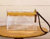 Clear Wristlet--Be Game Day and Concert Ready!