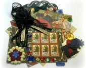 Graphic 45 A Proper Gentleman Inspiration Kit, Embellishment Kit for Scrapbook Layouts Cards Mini Albums and Paper crafts