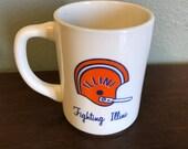 Vintage Fighting Illini Mug