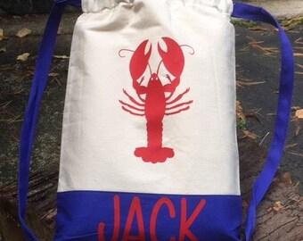 Custom Drawstring Bag for that seaside lover in your life!