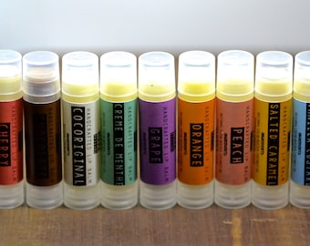 PICK ANY TWO handcrafted lip balms