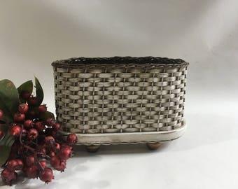 Napkin Basket / Jelly Basket / Gift Basket /  Handwoven Basket-Primitive Style-Distressed Basket