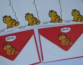 Vintage Garfield Mini Stationery Lot