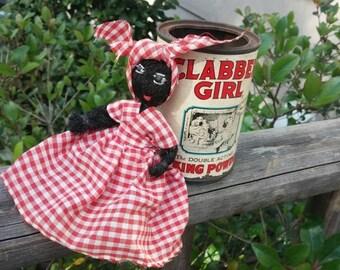 Vintage Advertising Can Clabber Girl Baking Powder