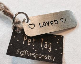 Pet Collar Charm - Dog Tag