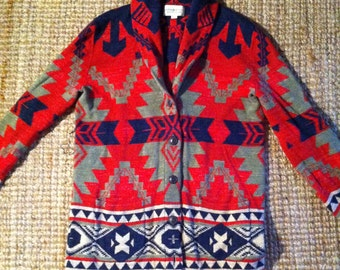 Ralph Lauren Denim and Supply Navajo Southwestern Jacket