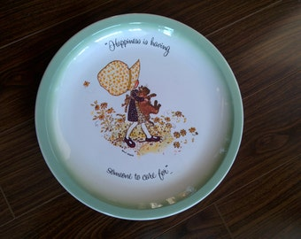 Vintage Holly Hobbie Collector Plate - 1970's
