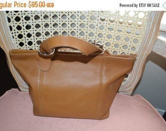 ON SALE Coach Bag~ Coach~ Leather Bag~British Tan Shopper Bag ~Coach 4133 Handbag~Coach Sale