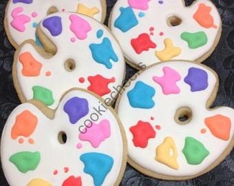 Paint pallet - sugar cookies
